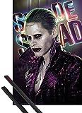 1art1 Suicide Squad Poster (91x61 cm) Joker Inklusive EIN