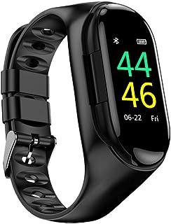 M/Y Pulsera Inteligente Reloj Inteligente Incorporado Bluetooth Auriculares InaláMbricos Hombres Mujeres.
