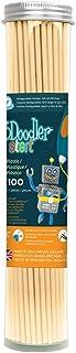 3Doodler 3DS-ECO12-BEIGE-100 Start Plastic Filament Refills Tube, Cappuccino (X100 Strands)