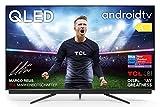 TCL 65C815 - Televisor 65 pulgadas QLED 4K UHD, Android TV, Barra de Sonido Onkyo, Micro Dimming Pro, Google Assistant, Compatible con Alexa