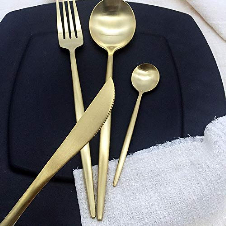 Farmerly 4 PCS Set Rainbow Silverware New Arrival Stainless Steel Cutlery Set Dinnerware Set colorful Creative Dinner Set Christmas Gift   D