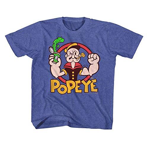 Popeye - - T-Shirt Unisexe pour bébé aux épinards, 3T, Vintage Royal
