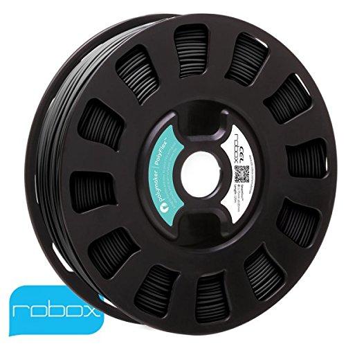 Robox SmartReel RLH-TPU-PMBK1 Polymaker PolyFlex 1.75mm Black - 120m