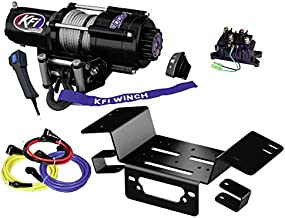 KFI Combo Kit - U45-R2 4500lbs Winch, Mount Bracket, Wiring, Switches, Remote Kit - compatible with 2014-on Honda Pioneer SXS 700 & SXS 700-4