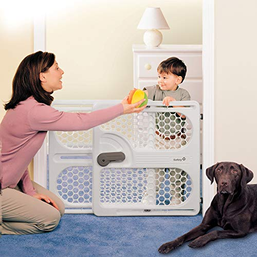 51Ns0HLljOL The 7 Best Pressure Mounted Baby Gates of [2021 Review]