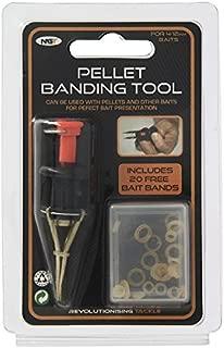 GNT NGT Pellet Bander Tool + 20 Bait Bands Match Coarse Fishing Banding Tool Tackle