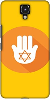 AMZER Handcrafted Designer Printed Slim Snap on Hard Case - Infinix Note 4 - Hanukkah 3