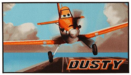 DISNEY Action LINE Planes tapijt, synthetische vezels, meerkleurig, 80 x 140 x 1,12 cm