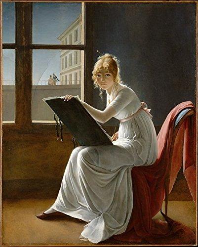 The Poster Corp Marie Denise Villers – Charlotte du Val dOgnes (died 1868) Kunstdruck (45,72 x 60,96 cm)