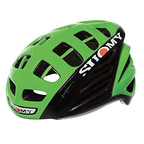 Suomy Casco da Ciclo Gunwind HV Verde/Nero M (54-58 cm)