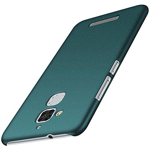 Anccer Cover Zenfone 3 Max ZC520TL [Serie Colorato] di Gomma Rigida Protezione Da Cadute e Urti Zenfone 3 Max ZC520TL (Ghiaia verde)