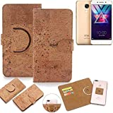 K-S-Trade 360° Cover cork Case for Coolpad Cool S1 |