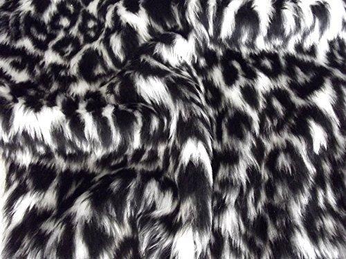 CRS Fur Fabrics Diversión Animal Piel sintética Material d