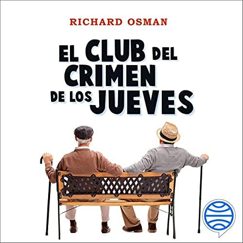 Diseño de la portada del título El Club del Crimen de los Jueves