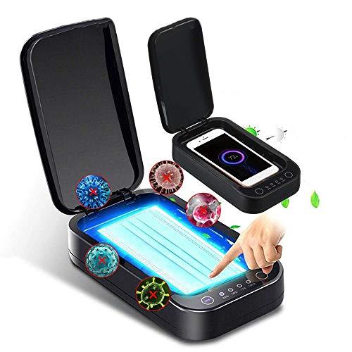 UV mobiele telefoon ontsmettingsmiddel, UV schoonheid desinfector doos met USB opladen, draagbare UV ontsmettingsdoos voor mobiele telefoons, fopspenen, tandenborstels, sieraden, enz