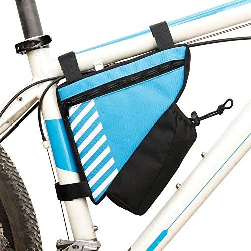 NoLogo Bolsa de sillín de Ciclismo Triángulo MTB Bolsa de sillín Bolsa de Ciclo Superior del Tubo del Frente del Marco Bolsa de Accesorios de la Bici Bolsa de Bicicleta de Carretera Profesional