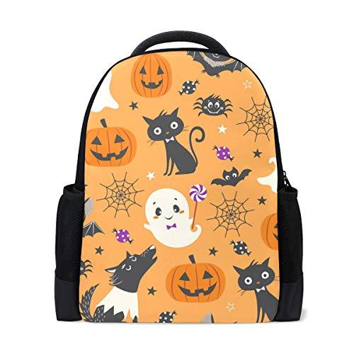 Mochila para portátil con patrón de Halloween