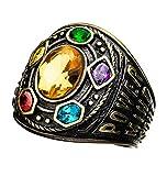 Sales One International Infinity guantelete Clase de Anillo Poder Infinito (Dorado, 10)