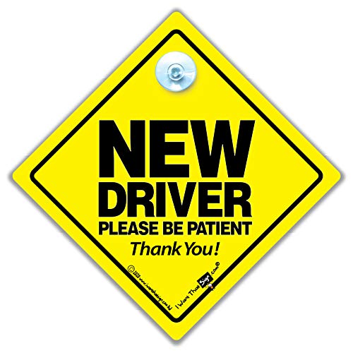 New Driver Esslern-Schild Schild, Führerschein Auto-Schild Schild