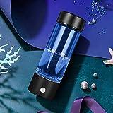 4YANG Botella De Ionizador De Agua Botella De Agua De Hidrógeno Portátil De 3 Minutos Máquina De Botella De Agua Alcalina De Hidrógeno 380ML Contenido De Hidrógeno hasta 1300-16000 PPM