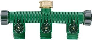Orbit 62009 3-Way Plastic Hose Faucet Valve Manifold