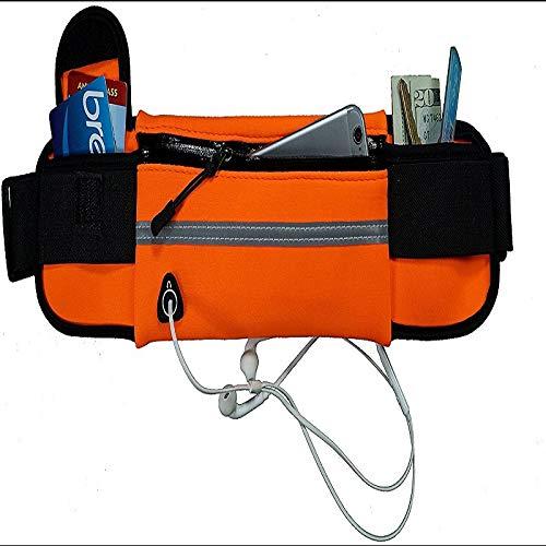 N/A Outdoor-Sport-Wasserflasche Taschen Taschen Taschen Fitness wasserdichte Handytasche persönliches Sicherheitspaket Ritter läuft (Color : 4)