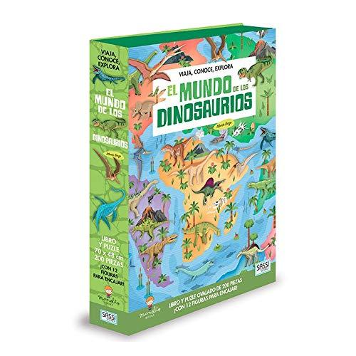 El Mundo De Los Dinosaurios , color modelo surtido (Viaja conoce explora A4)