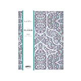 Nicole Miller for Blue Sky 2020 Monthly Planner, Flexible Cover, 8.5' x 11', Bramble