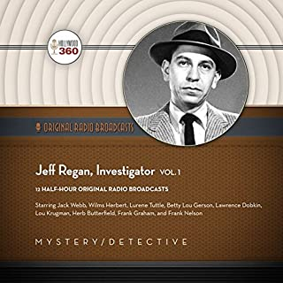 Jeff Regan, Investigator, Vol. 1 audiobook cover art