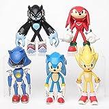 Sonic toys Un conjunto de 5 juguetes sónicos extremidades pueden hacer muñecas villano decoración ll...