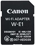 Canon W-E1 Wi-Fi Mobile Adapter for EOS 7D Mark II, EOS 5DS, EOS 5DS R Cameras (1716C001)