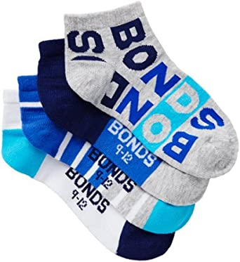 Bonds Boy's Fashion Trainer Socks