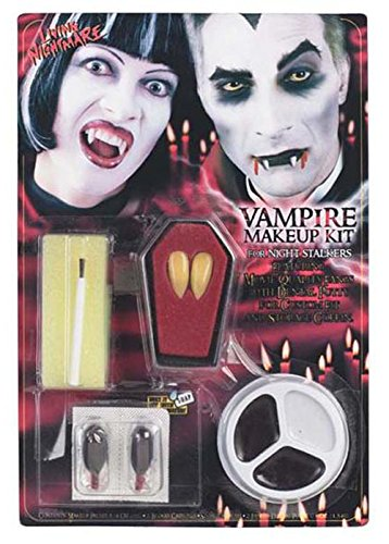 Kit de maquillage gothique Vampire Halloween