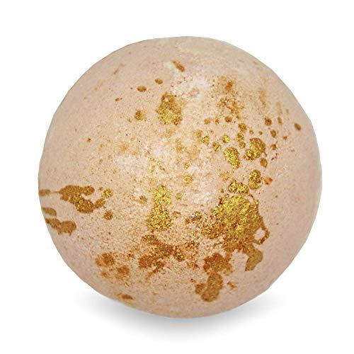 BIG Fizzy Bath Bomb Mango Tango - Riesen-Badekugel (240 g / 8.5 oz) | Badekomet, Badezusatz, Wellness, Spa, Gold