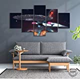 Yywife 5 teilige Wandbilder Bild Schlafzimmer