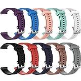 ZSZCXD Band for Garmin Vivoactive 3, Silicone Replacement WatchBand Strap Band Wristband for Garmin Vivoactive 3