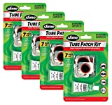Slime 1022-A Rubber Tube Patch Kit with Glue, Pack of 4
