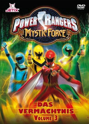 Power Rangers - Mystic Force: Das Vermächtnis, Vol. 3