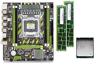 Cimoto X79 X79G Conjunto de Placa Base con LGA2011 Combos Xeon E5 2620 CPU 2 Piezas X 4GB = 8GB Memoria DDR3 1333Mhz PC3 10600R