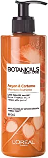 L'Oréal Paris Shampoo Botanicals, Shampoo Nutriente, Argan e Cartamo, 400 ml