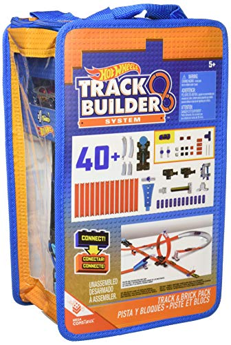 Hot Wheels Track Builder Track and Brick Pack Playset