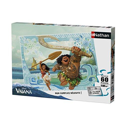 Nathan 86573 Vaiana & Maui - Puzzle (60 Piezas)