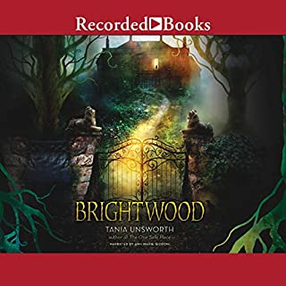 Brightwood audiobook cover art
