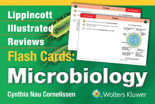 Lippincott Illustrated Reviews Flash Cards: Microbiology (Lippincott Illustrated Reviews Series)