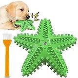 Juguete para Masticar, Juguete para la Dentición del Perro, Cepillo de Dientes para el Cuidado de los Dientes del Cachorro, Juguete de Goma Que Chirría para Perros Pequeños y Medianos