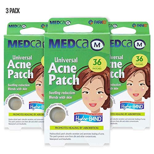 Parches absorbentes acné - Vendas hidrocoloides 108