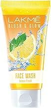 Lakme Blush and Glow Lemon Fresh Facewash, 100g