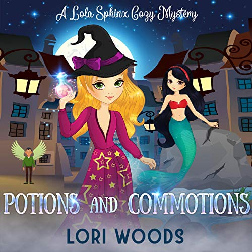 Potions and Commotions audiobook cover art