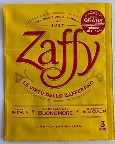 Zaffy Zafferano - Confezione da 12 Bustine Ideale per preparazioni salate e dolci