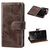 Mulbess Vintage Sony Xperia XZ1 Compact Case, Sony Xperia
